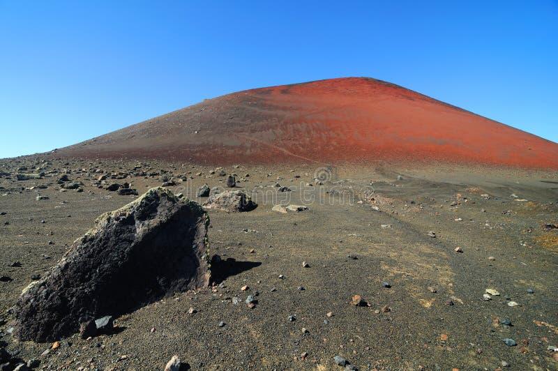 Vulcano Landschaft lizenzfreies stockbild