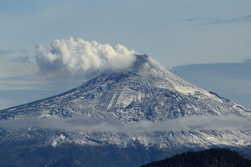 Vulcano Osorno imagens de stock