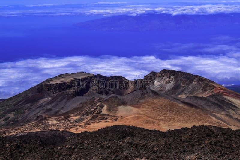 Vulcano Teide fotografia royalty free
