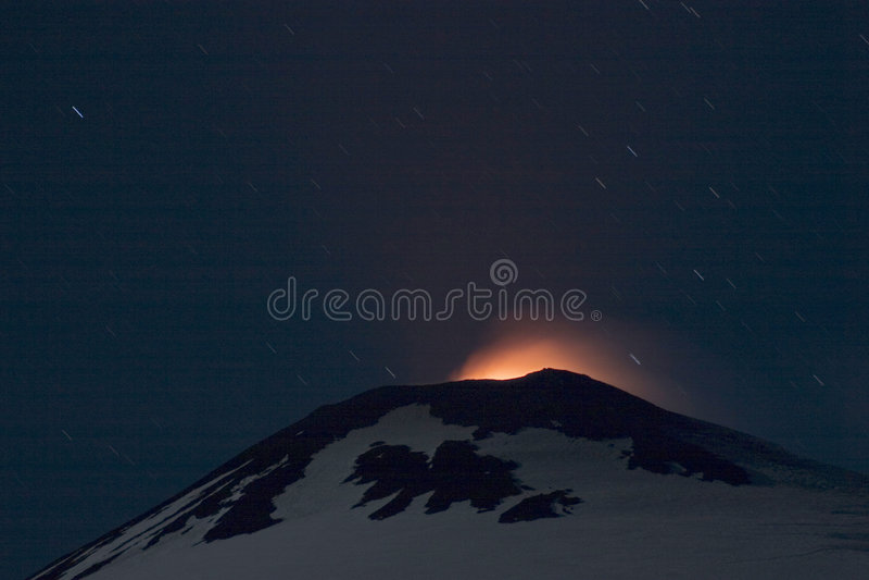 Vulkaan royalty-vrije stock foto