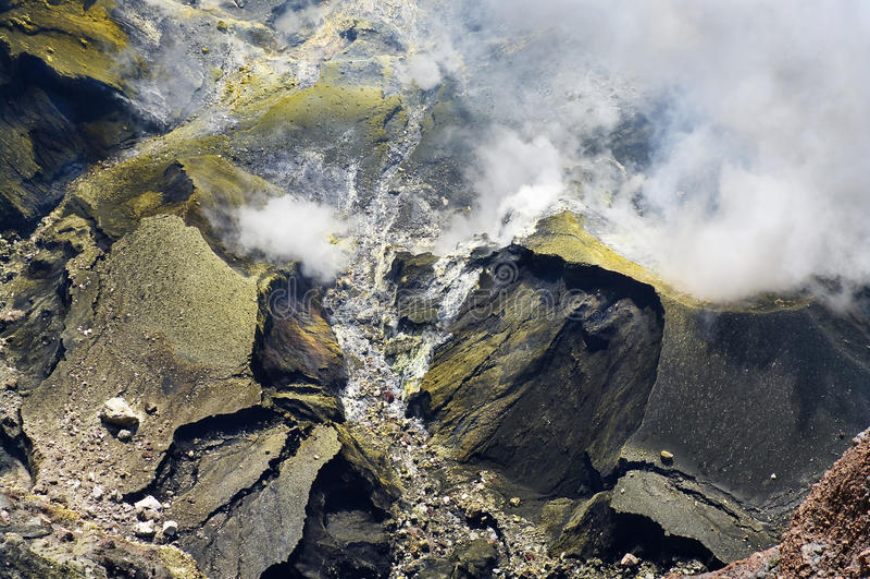 Vulkaan Kerinci royalty-vrije stock fotografie