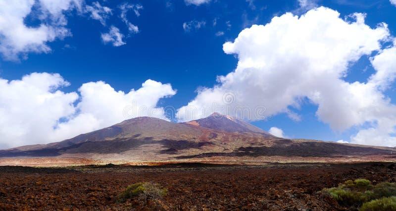 Vulkaanmonding Teide in Tenerife royalty-vrije stock afbeelding