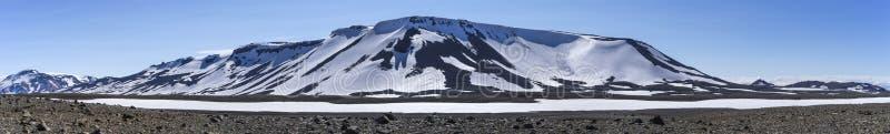 Vulkaanpanorama, zuidwestelijke hooglanden IJsland stock afbeeldingen