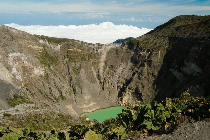 vulkan för costairazurica royaltyfri fotografi