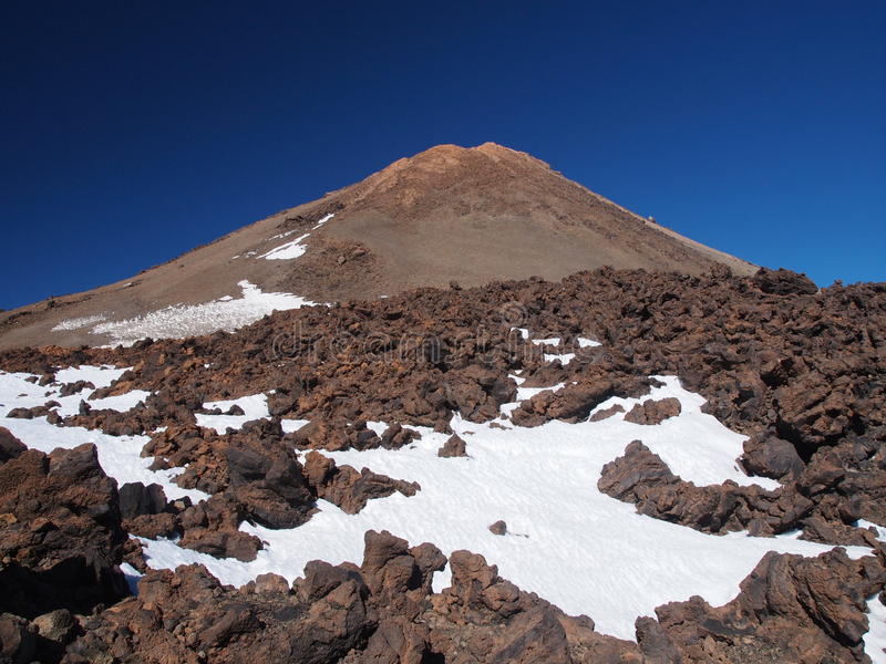 Vulkan Teide lizenzfreie stockbilder