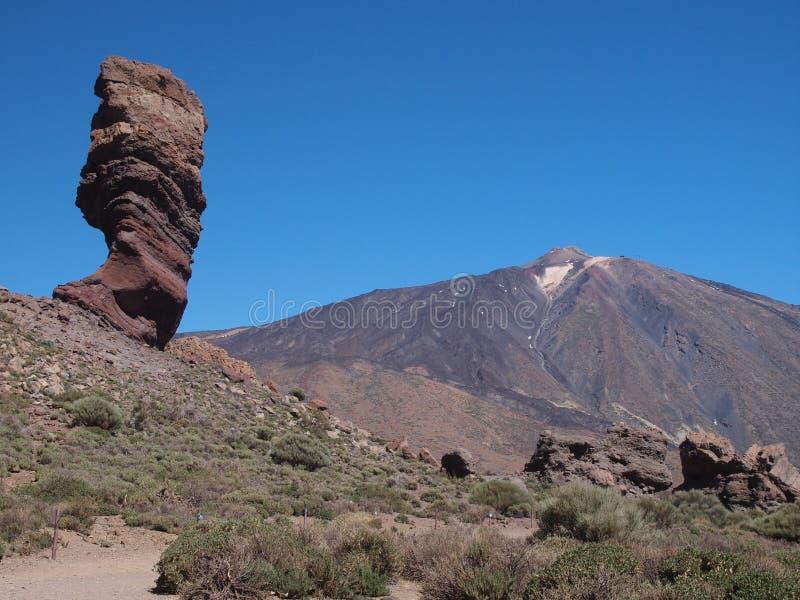 Vulkan Teide stockfotografie