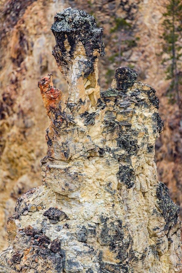 Vulkan vaggar texturbakgrund royaltyfri bild