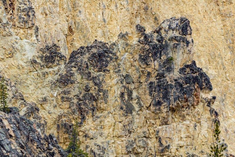 Vulkan vaggar texturbakgrund arkivfoto