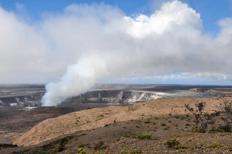 Vulkanen Nationaal Park royalty-vrije stock afbeelding