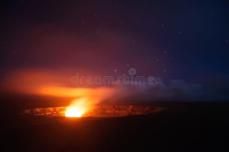 Vulkanen Nationaal Park royalty-vrije stock foto's