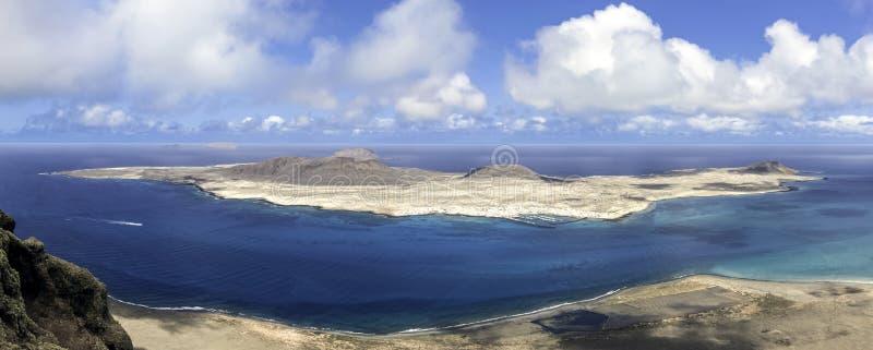 Vulkaninsel-La Graciosa - Lanzarote, Kanarische Inseln lizenzfreie stockbilder