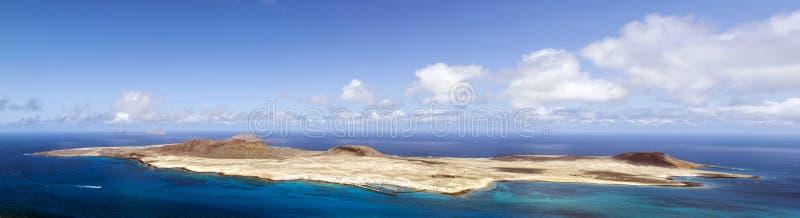 Vulkaninsel-La Graciosa - Lanzarote, Kanarische Inseln lizenzfreie stockfotos