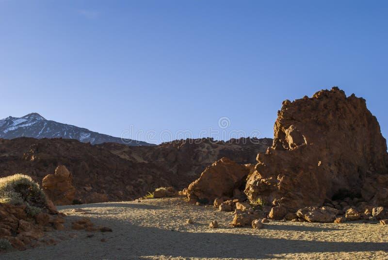 Vulkanisch Landschap (Teide - Tenerife) royalty-vrije stock foto