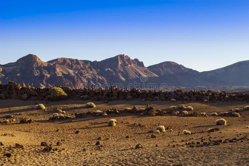 Vulkanisch Landschap (Teide - Tenerife) stock foto