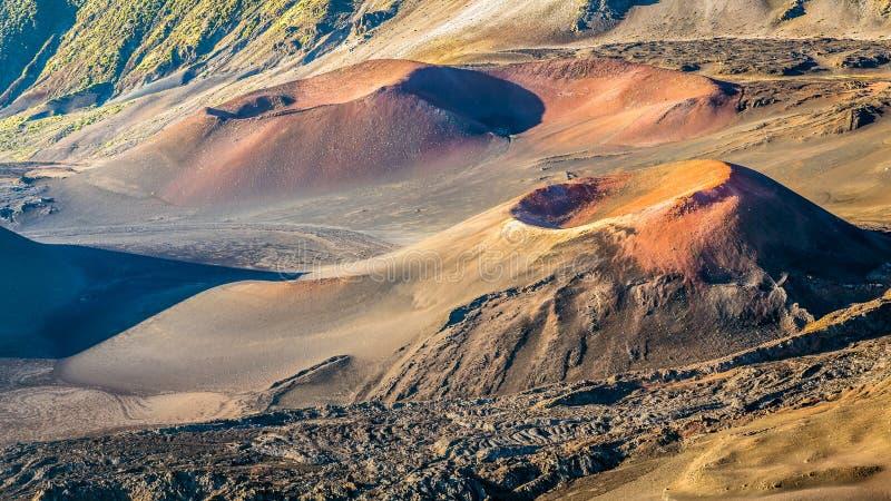 Vulkanisch Landschap van Hawaï royalty-vrije stock fotografie