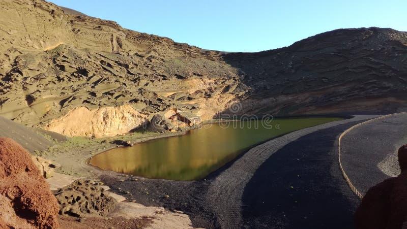 Vulkanische de kanaries van landschapstenerife stock afbeeldingen