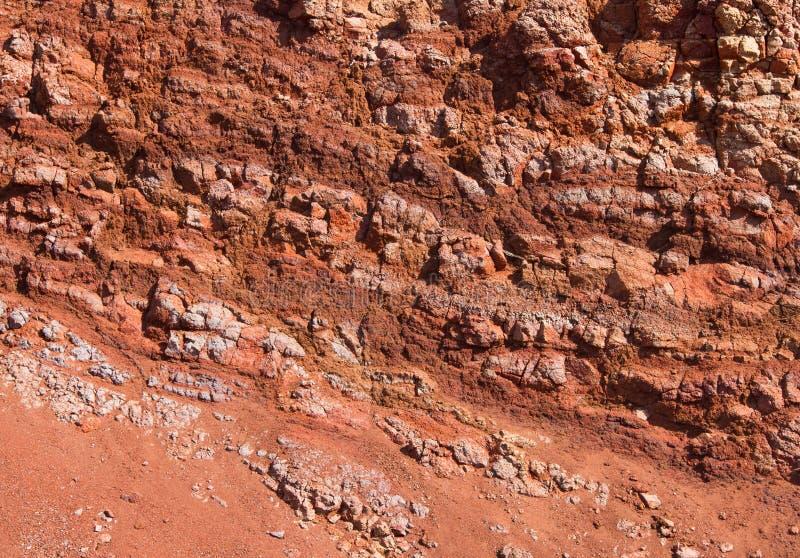 Vulkanische grond royalty-vrije stock afbeelding