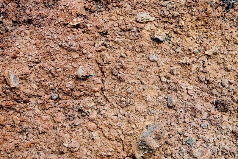 Vulkanische grond royalty-vrije stock afbeeldingen