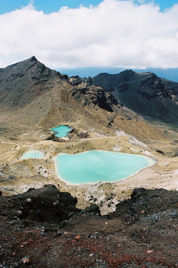 Vulkanische Landschaft stockbilder