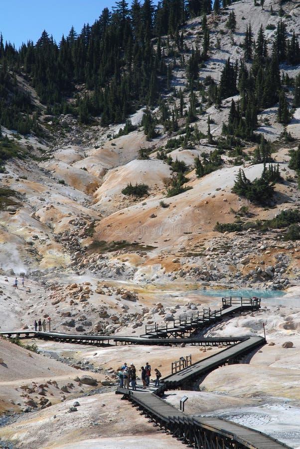 Vulkanische Lassen, Californië, de V.S. stock afbeeldingen