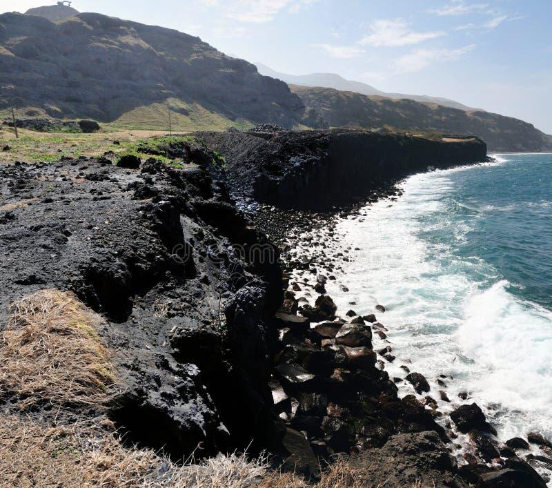 Vulkanische Rand stock afbeeldingen