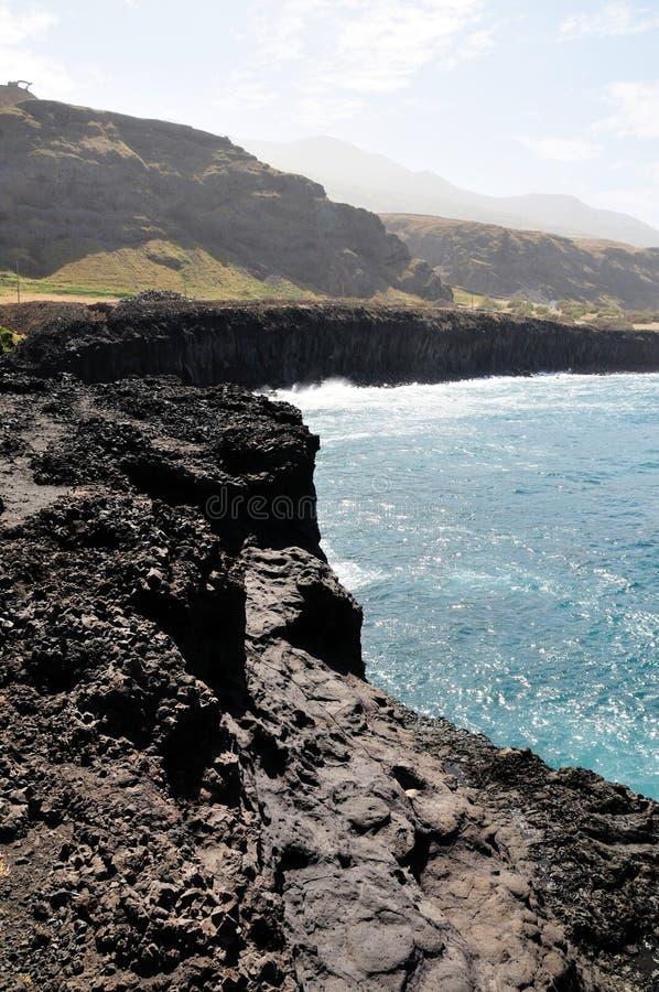 Vulkanische Richel royalty-vrije stock fotografie