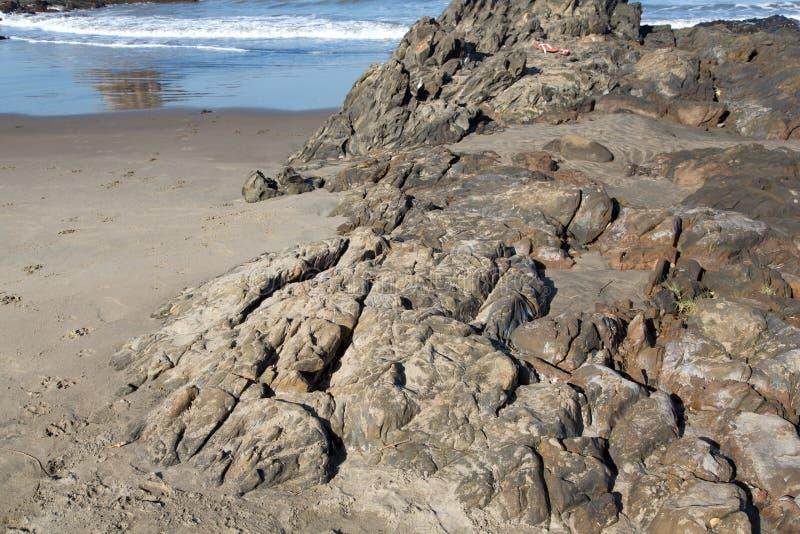 Vulkanischer Felsen lizenzfreie stockfotografie