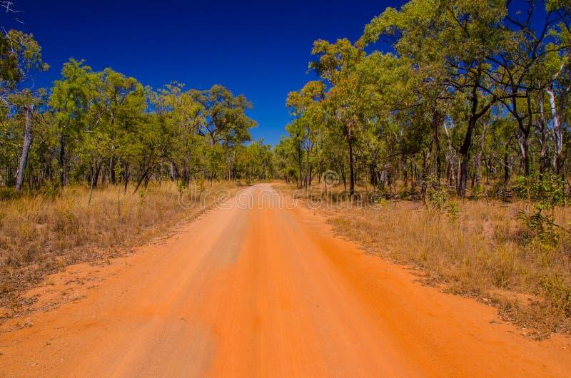 Vulkanisk nationalpark, Queensland, Australien royaltyfria bilder