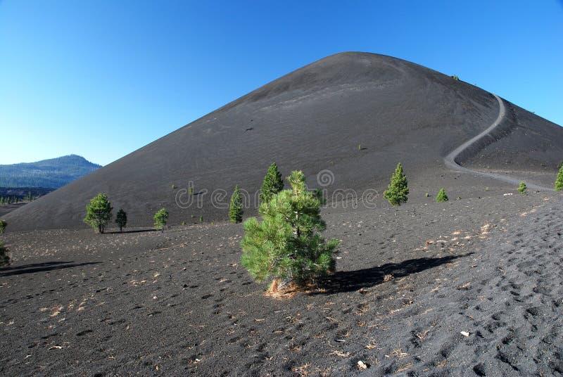 Vulkaniska Lassen, Kalifornien, USA royaltyfria foton