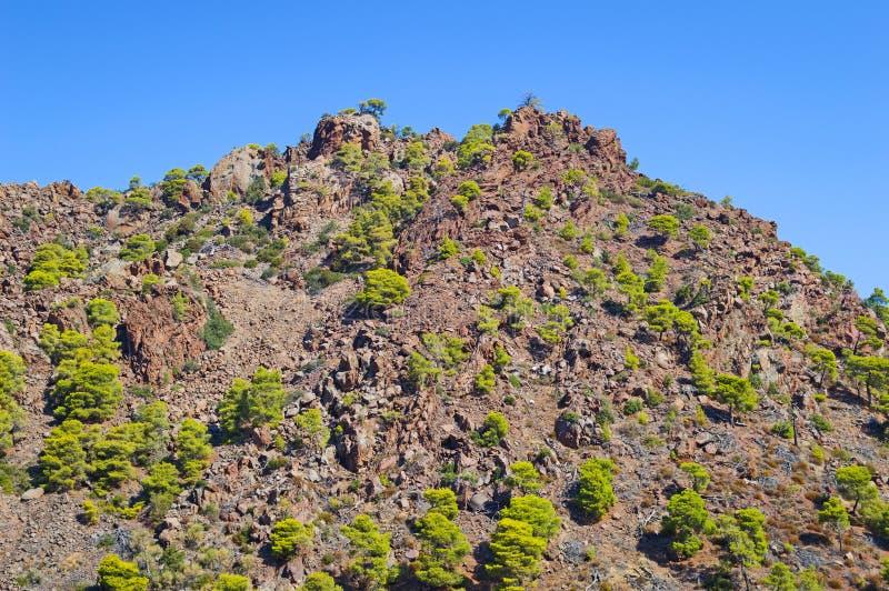 vulkaniskt berg arkivfoto