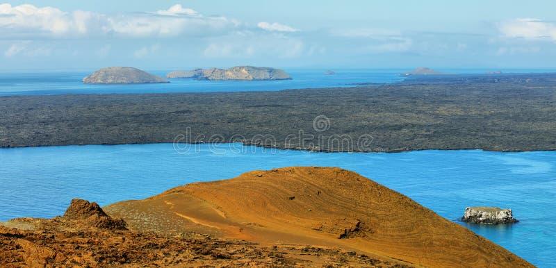Vulkaniskt landskap av Santiagoön royaltyfri bild