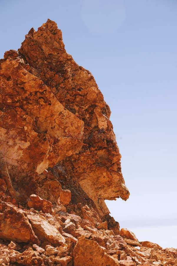 Vulkaniskt vagga bildande arkivfoton