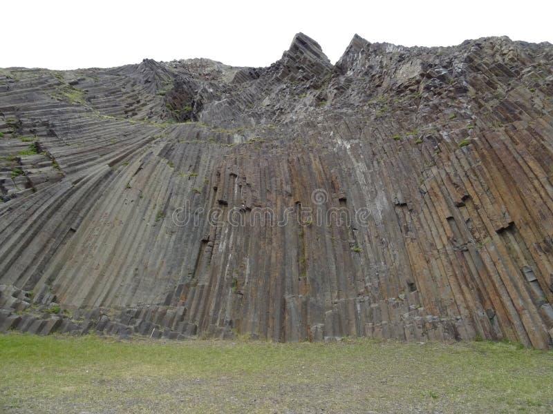 Vulkaniskt vagga på Porto Santo arkivbilder