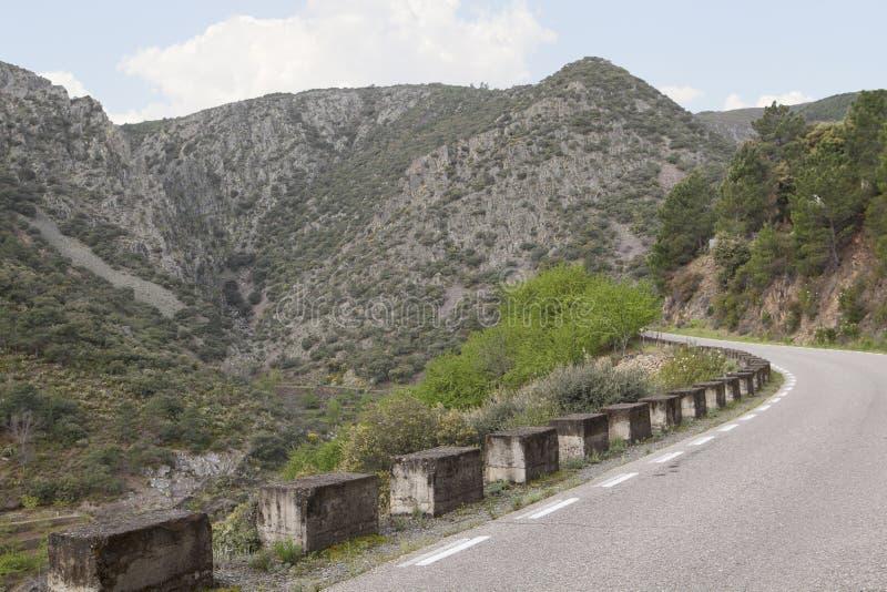 Vulkanväg i Las Hurdes, Extremadura region fotografering för bildbyråer