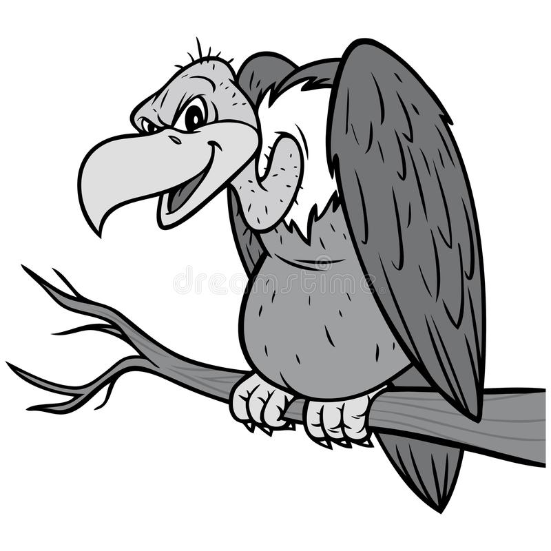 Free Vulture Illustration Stock Photo - 111813720