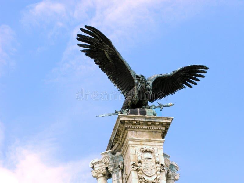 Vulture, mythical Turul stock photos