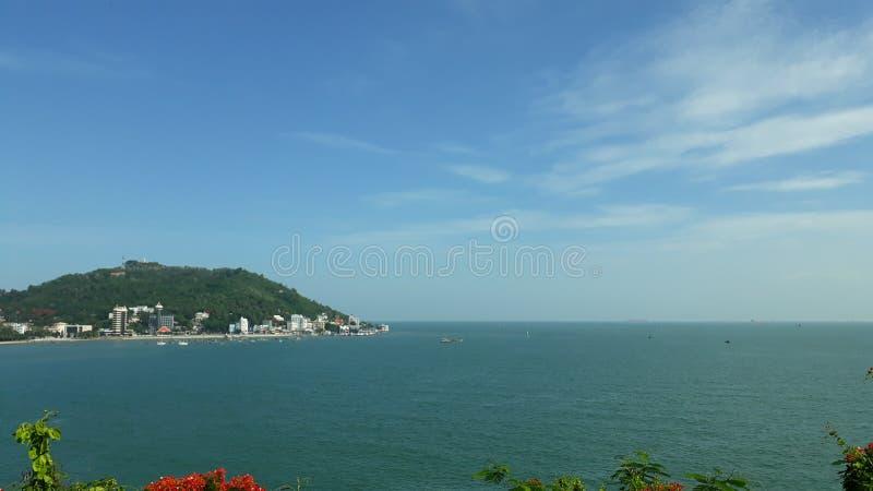 Vung Tau strand royaltyfri foto