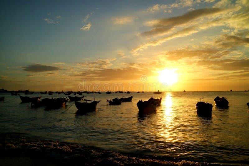 Vung Thau plaża, Wietnam zdjęcia royalty free