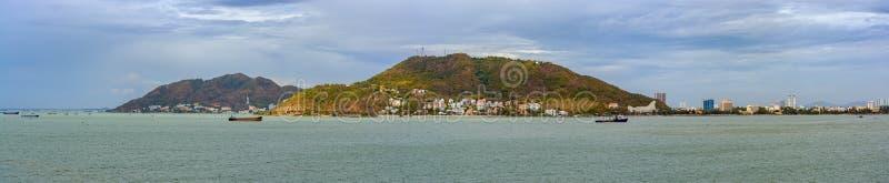 Vungtau kustlijn vietnam stock foto's
