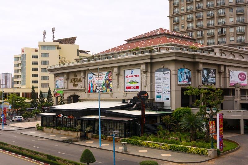 Vungtau, Vietnam - Januari 25, 2018: Luxueus vijfsterrenhotel Keizer stock foto