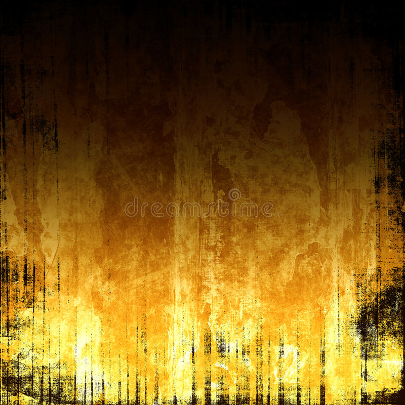 Vurige Achtergrond Grunge stock illustratie