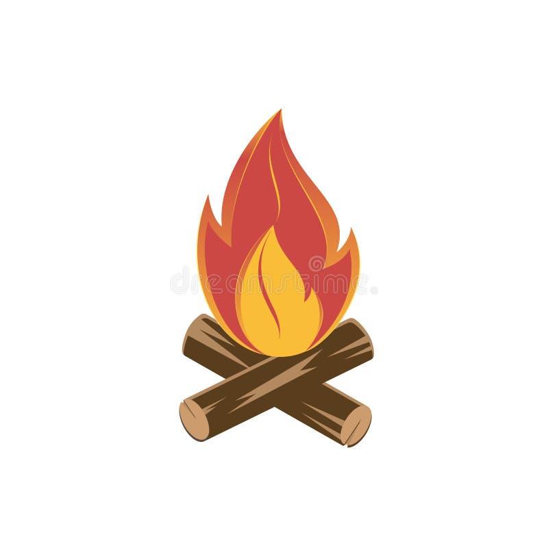 vuur stock illustratie