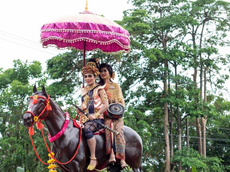 Vuurfestival royalty-vrije stock afbeeldingen
