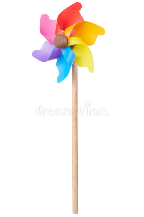 Vuurrad, kleurrijk stuk speelgoed royalty-vrije stock foto's
