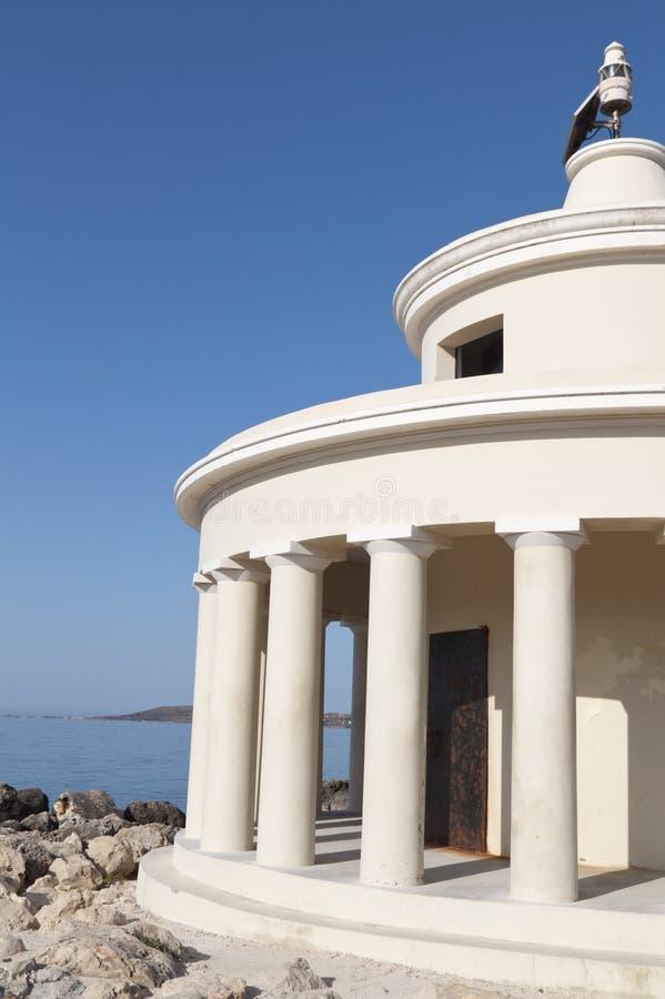 Vuurtoren in Argostoli van Kefalonia royalty-vrije stock fotografie
