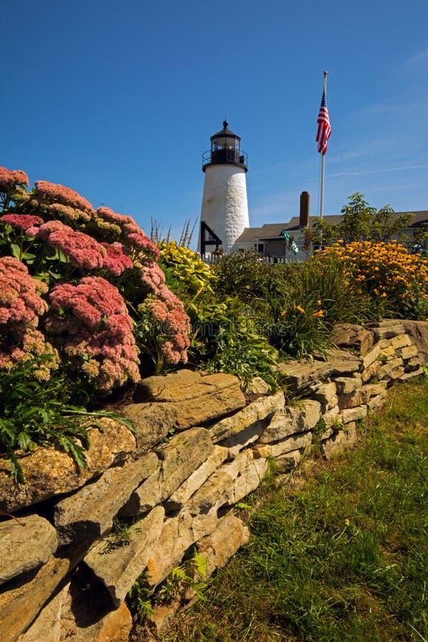 Vuurtoren Maine royalty-vrije stock afbeelding