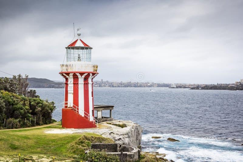 Vuurtoren Sydney royalty-vrije stock afbeeldingen