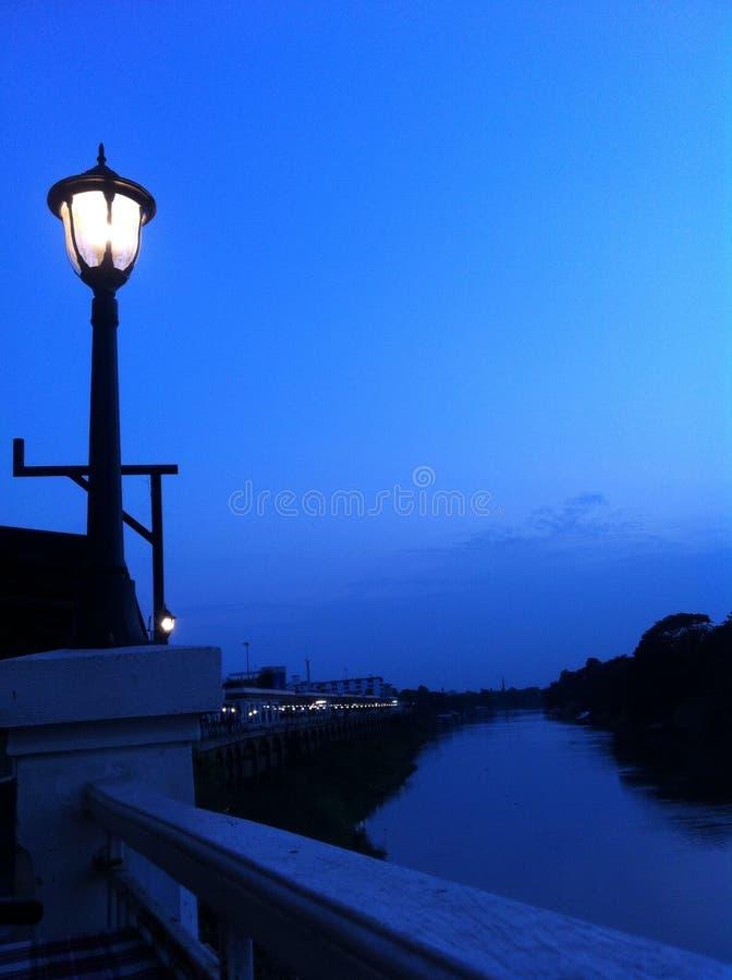 Download Vuurtorenlamp stock foto. Afbeelding bestaande uit blauw - 54077064