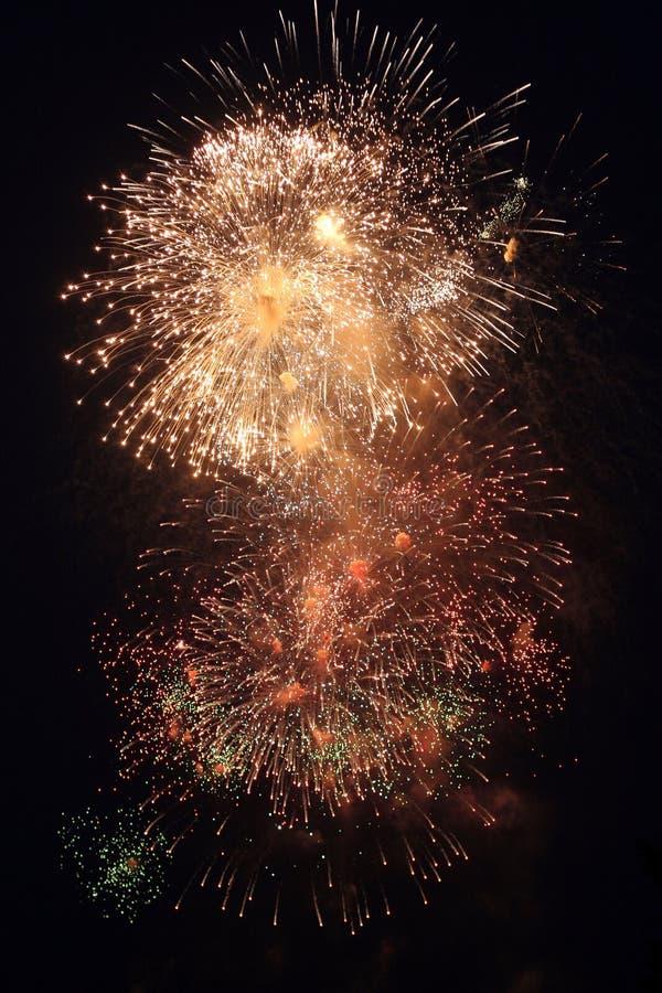 Vuurwerk 04 stock afbeelding