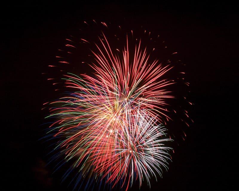 Vuurwerk 13 stock afbeelding